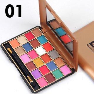 MISS DOOZY 16 Color Eyeshadow Plate Balm Lipstick Blush