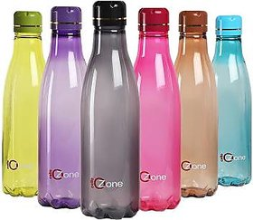 cello ozone water bottle,pack of 2,multicolour