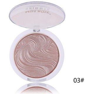 Miss Rose #7 Cream  New 3D Shimmer Powder Highlighter Palette Face Base Illuminator Makeup