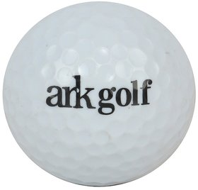 ARK GOLF WHITE INTERMIDIATE AND BEGINNER LEVEL GOLF BALL SET OF 15