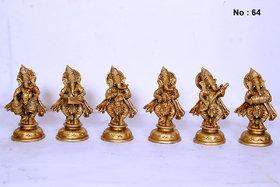 Ganesha Musical Set of 6pc