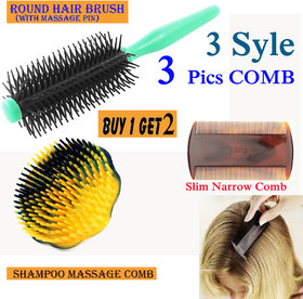 Plastic Lice Fine Tooth Dust Clean Remove Nit-free Dry, Wet Hair Combs