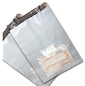 Tamper Proof Courier Bags With POD Jacket 50 Micron- 500 Pcs.  Size 12x16