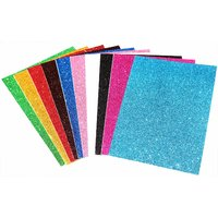 Uc collection Premium Quality Glitter Sheets A4 Size