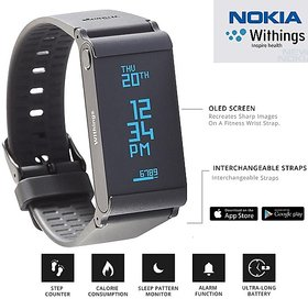 Nokia Go Withings Activity Tracker Fitness and Smart Watch