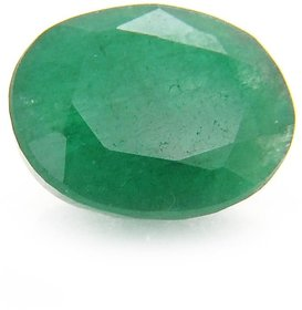 Riddhi Enterprises 8 ratti panna stone original certified loose green emerald gemstone