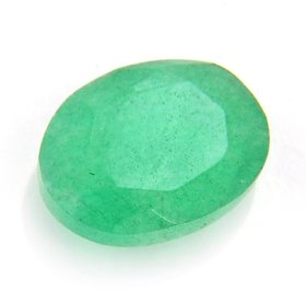 Riddhi Enterprises 7 ratti emerald gemston cultured original certigied loose precious traditional panna rashi ratna