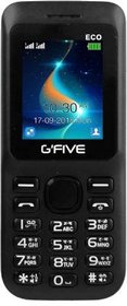 Gfive Eco Dual Sim Mobile With 1050 mAh Battery/1.8 Inch Display/Camera/ Speaker  And External Memory Feature