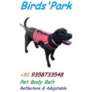 Dog Body Belt Harness, Pet Body Belt - Good for medium size Dogs - Washable Adjustable (Size  Medium)