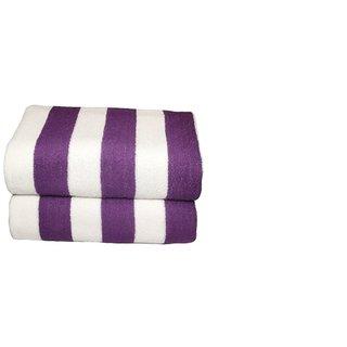 Tharunsha Elite Jombo Size Premuim Pure Cotton Soft Terry Towel/Bath Towel./Beach Towel/ Car Seat Towel 36'72 Set of 2