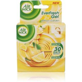 Airwick EverFresh Gel Air Freshener - Lemon Garden, 50g
