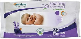 Himalaya Soothing Baby Wipes (72 Wipes)