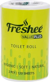 Freshee Value Plus Toilet Paper Roll (2 Ply, 120 Sheets)