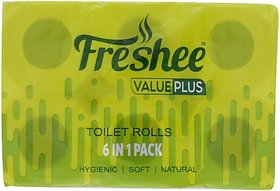 Freshee Value Plus Toilet Paper Roll (2 Ply, 220 Sheets)
