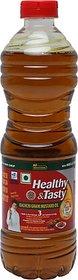 Emami Healthy & Tasty Kachchi Ghani Mustard Oil Plastic Bottle (500 ml)