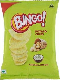 Bingo Yumitos Cream and Onion Potato Chips (52 g)