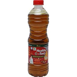 Emami Healthy & Tasty Kachchi Ghani Mustard Oil 500ML