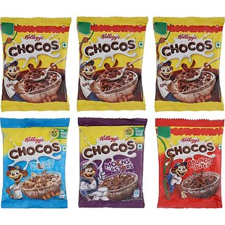 Kellogg's Chocos Pack Of 6 (154gm)
