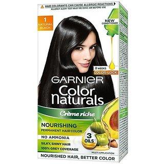 Garnier Color Naturals Creme Hair Color (Shade 1, Natural Black)