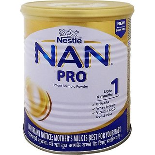 Nestle Nan Pro 1 Infant Formula Powder (400 G, Upto 6 Months)