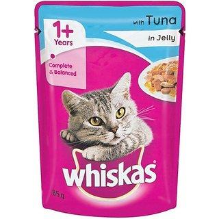 Whiskas Jelly Tuna Cat Treat (85 G)
