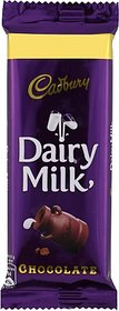 Cadbury Dairy Milk Chocolate Bars (50 G)
