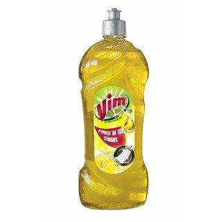 VIM Liquid Dishwash Gel - 750 Ml (Lemon)