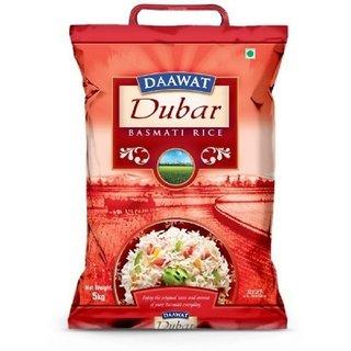 5 Kg Daawat Dubar Basmati Rice (Medium Grain)