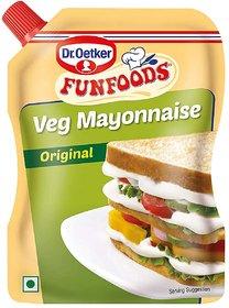 Fun Foods Mayonnaise Veg 875 g