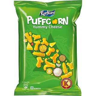 Kurkure Puffcorn Yummy Cheese (55 G)