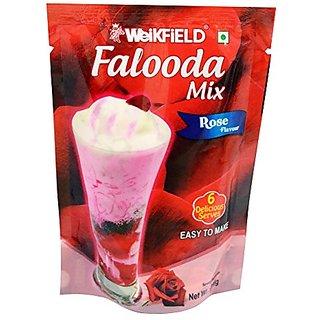 Weikfield Ready Meals Falooda Mix Rose 200gm
