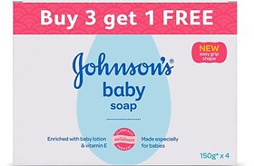 Johnson's Baby Soap (3 x 150 g)