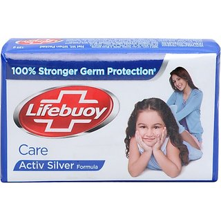 Lifebuoy Care Soap (125 g) (Pack of 4)