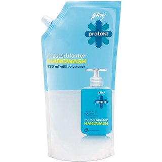 Godrej Protekt Master Chef's Hand Wash Refill Pouch Suitable for Men & Women ( 750 ml )