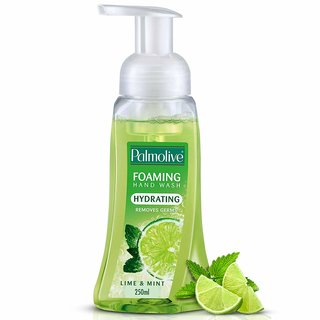Palmolive Lime & Mint Foaming Hand Wash Pump Dispenser 250 ml Pack of 1