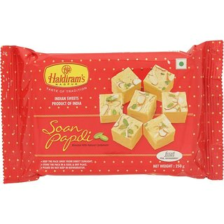 Haldiram's Soan Papdi Badami Box 250 gm