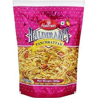 Haldiram's Panchrattan Namkeen 200gm (Pack of 2)