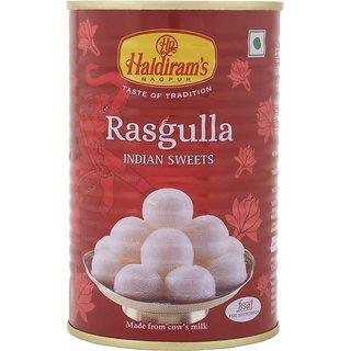 Haldiram's Rasgulla Tin 500 gm