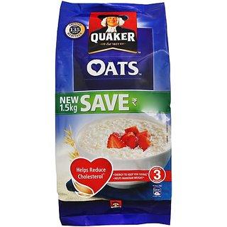 Quaker Oats (1.5 kg, Pouch)