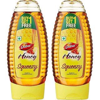 Dabur Honey Squeezy (400 gms x 2)