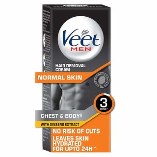 Veet Hair Removal Cream for Men, Normal Skin - 50 gm