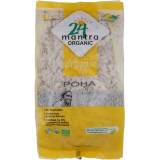 24 Mantra Organic Poha 500 gm