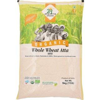 24 Mantra Organic Atta/wheat flour 5 kg