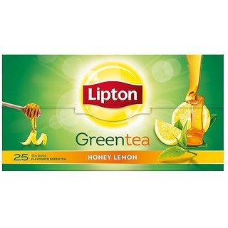 Lipton Honey Lemon Green Tea Bags Box (25 Bags)