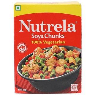 Nutrela Soya Chunks (200 gm) (Pack of 2)