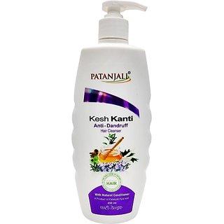 Patanjali Kesh Kanti Anti - Dandruff Hair Cleanser (450 ml)