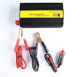500W Power Converter DC 12V to 220V AC Car Auto Inverter/ Converter + USB Car Inverter