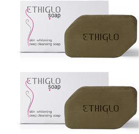 Ethiglo Skin Whitening Soap (Pack Of 2) (2 x 75 g)