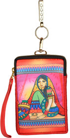 ALL THINGS SUNDAR - Ethnic Collections of Accessories - Mobile pouch - Multicolour