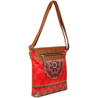 ALL THINGS SUNDAR - Ethnic Collections of Sling Bag - Sling bags - Multicolour